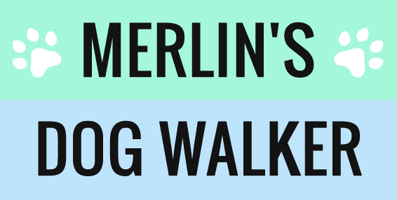 Merlin Dog Walker logo